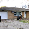 John P. Cleary |  The Herald Bulletin<br /> House at 607 Pass Street in Chesterfield where a double shooting occurred Monday evening.
