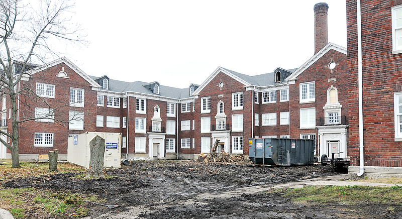 John P. Cleary |  The Herald Bulletin Delaware Court Apartments.