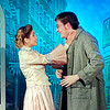 "Mark Maynard | for The Herald Bulletin<br /> In ""The Matchmaker"" presented by the Alley Theatre, Pia Desideria and Tyler Marx portray young lovers Ermengarde and Ambrose Kemper."