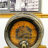 "Don Knight |  The Herald Bulletin<br /> A keg from the T.M. Norton Brewing Company is part of the ""History of Brewing, Distilling and Bottling in Indiana"" exhibit at the Madison County Historical Society."
