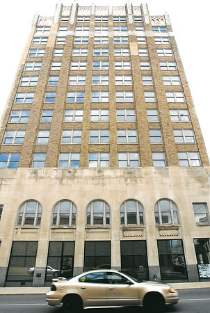 John P. Cleary | The Herald Bulletin<br /> The Tower Apartment building.