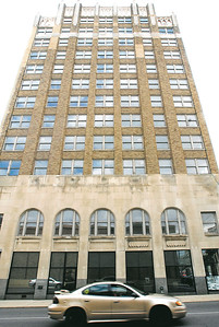 John P. Cleary | The Herald Bulletin The Tower Apartment building.