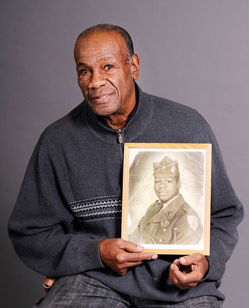 Don Knight | The Herald Bulletin<br /> Veteran Billy Miller joined the Army in 1955 and was stationed in Munich Germany.