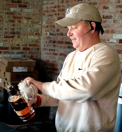 Stu Hirsch |  The Herald Bulletin<br /> Christian Center makes bar for Oakley Brothers