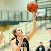 Don Knight | The Herald Bulletin<br /> Lapel's Bree Boles drives into the lane as the Bulldogs traveled to Westfield on Wednesday.