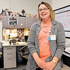 John P. Cleary |  The Herald Bulletin<br /> Emily Quillen, case manager for Aspire.  For Hometown Heros feature.