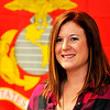 John P. Cleary |  The Herald Bulletin<br /> Jennifer Tyler is a Marine veteran and is a Veterans Service Officer at Madison County Veterans Affairs.