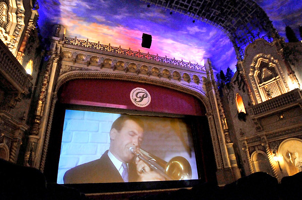 John P. Cleary | The Herald Bulletin<br /> The Paramount Theatre will start showing movies again in the historic theatre on a new giant screen.