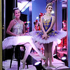 Don Knight | The Herald Bulletin<br /> Members of the Anderson Young Ballet Theatre's production of the Nutcracker pose in the windows of the Paramount as guests arrive for the Festival of Trees Gala on Saturday.