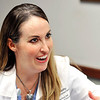 John P. Cleary | The Herald Bulletin<br /> Community Hospital cardiologist Dr. Anne Ford discusses different aspirin studies and their findings.