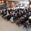 John P. Cleary | The Herald Bulletin<br /> Former U.S. Senator Kelly Ayotte speaks at Anderson University.