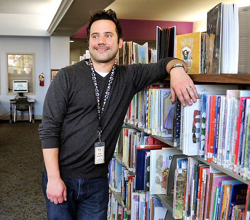 John P. Cleary   The Herald Bulletin<br /> Brad Sowinski, 35, childrenÕs librarian at Alexandria Public Library, is on the upper end of the age range of the generation known as the millennials.