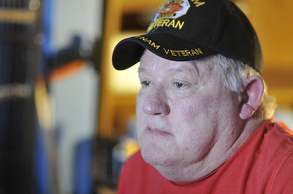 John P. Cleary   The Herald Bulletin<br /> Air Force veteran Johnnie Wilson.