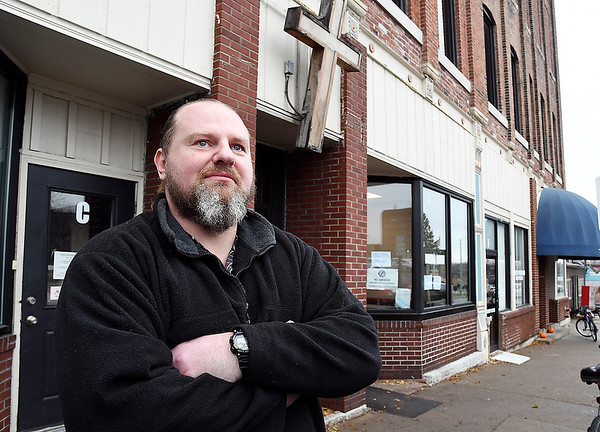 John P. Cleary | The Herald Bulletin<br /> Jack Surguy, a resident of The Christian Center, credits the shelter with helping him turn his life around.