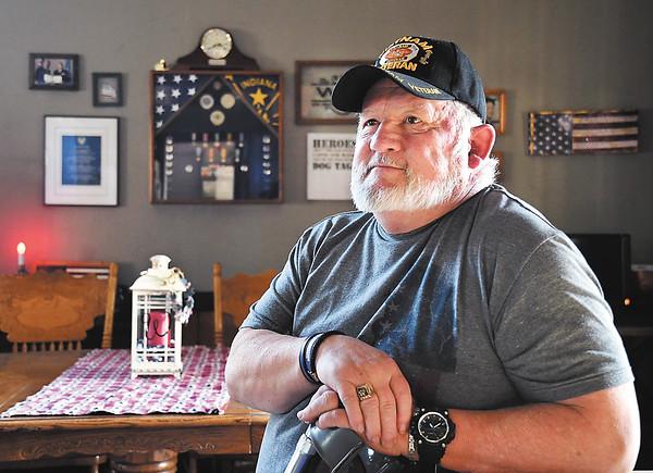 Johnnie Wilson, of Elwood, is a Air Force veteran of Vietnam and Desert Storm.