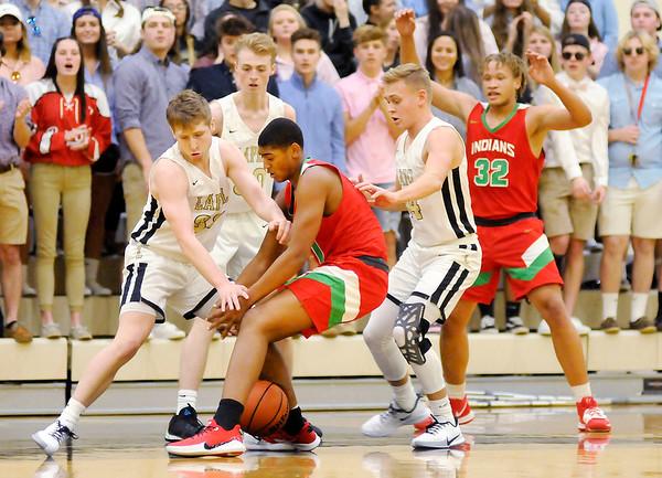 Lapel v Anderson basketball