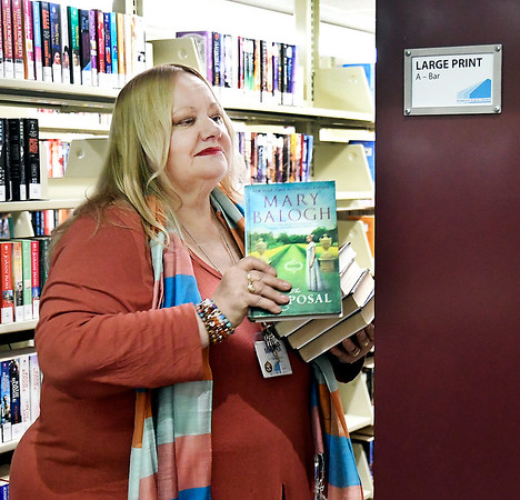Martha Green has worked in all facets of the Anderson Public Library in her 29 years of service.