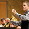 "Conductor John Huntoon leads the Anderson University Community Band in their performance of ""An Unending Legacy"" as the band performs for the first time in the York Performance Hall on Tuesday."