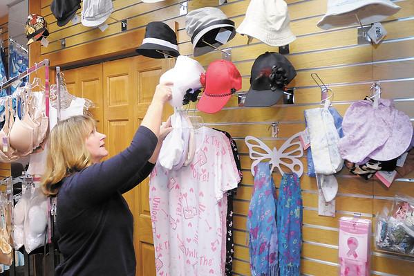 Terri Walker runs the Comfort Shop at Community Hospital.