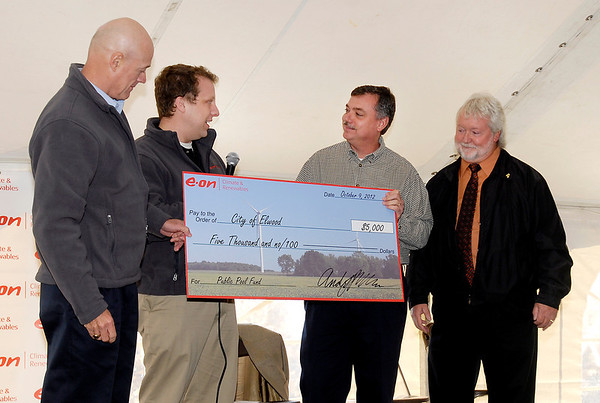 E.ON Climate & Renewables held a celebration ceremony for their Wildcat I Wind Farm.