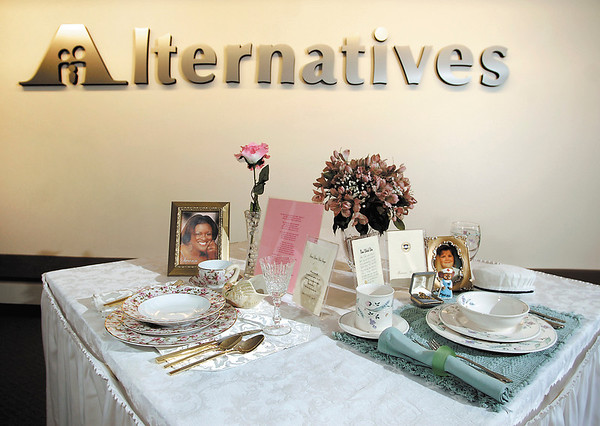"""Alternatives  """"empty table settings"""" awareness campaign."""