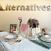 "Alternatives  ""empty table settings"" awareness campaign."