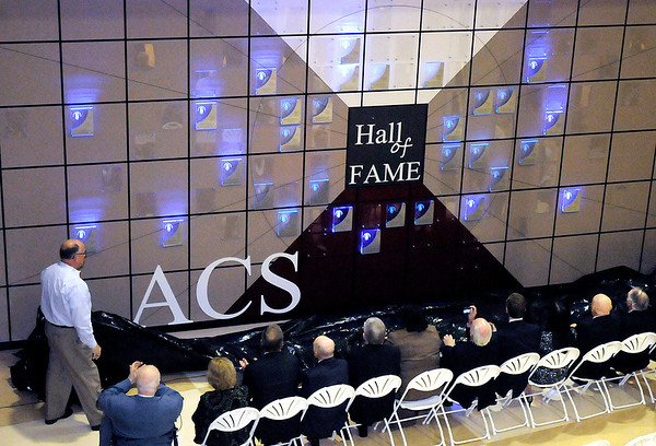 ACS unveils their Hall of Fame with 14 new alumni added to the wall during a banquet at Anderson High School on Friday.