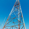 Moody Radio's WGNR, 97.9 FM tower reaches high into the skies of southwest Anderson where it broadcasts contemporary Christian and religion teaching radio.