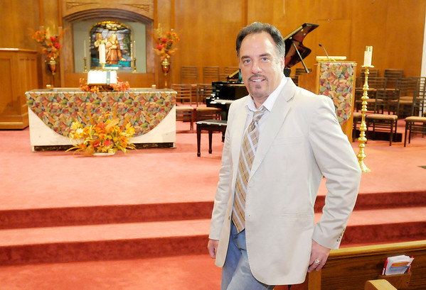 Don Knight/The Herald Bulletin<br /> Rick Vale is the pastor of Central Christian Church in Anderson.