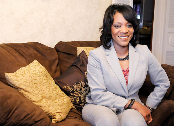 Don Knight/The Herald Bulletin<br /> Kim Townsend was one of three former Community Development employees who were fired in March 2012. Townsend says she was wrongfully terminated has had her side affirmed by an administrative law judge and the U.S. Department of Housing and Urban Development.