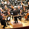 "Don Knight/The Herald Bulletin<br /> The Anderson Symphony Orchestra opened their 46th season with a performance of the symphonies  known as ""Jupiter"" and ""Titan"" on Saturday."