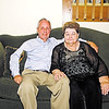 Mark Maynard/For The Herald Bulletin<br /> Ten-year inflammatory breast cancer survivor Kathy Erb and her husband David, who was by her side throughout the two and one-half year course of her intensive treatment.