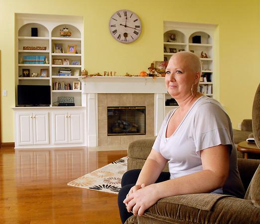 Breast cancer survivor Kim Antrim.