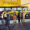 Don Knight/The Herald Bulletin<br /> Frankton 8th grade students leave Tuesday evening for the school's annual  field trip to Washington D.C. While the government shutdown has caused the group to rearrange their schedule they are still excited to go.