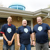 Don Knight/The Herald Bulletin<br /> Quality Moving Service, from left, Chad Neuman, John Aukerman and Randy Aukerman.