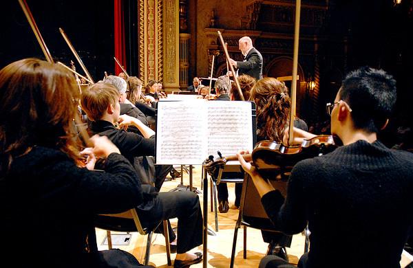 Stu Hirsch   The Herald Bulletin<br /> ASO has student concert.