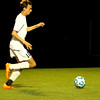 Photo by Chris Martin for The Herald Bulletin<br /> Pendleton's Austin Kepner scores the matches first goal in the 30th minute Wednesday in a Sectional Semi Final win against Fishers
