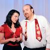 "John P. Cleary | The Herald Bulletin  <br /> Lois Lane (Alaina Coplin) and Bill Calhoun (Daniel Draves) discuss his gambling debt in ""Kiss Me Kate."""