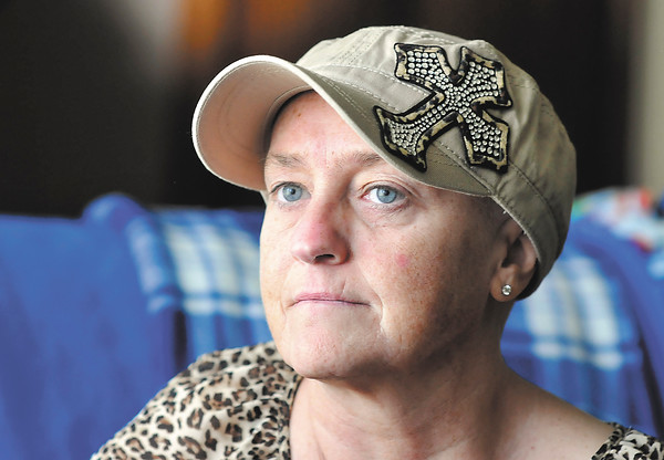 John P. Cleary | The Herald Bulletin<br /> Jerrie Hefferman, one of the subjects for the Breast Cancer tab.