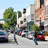 John P. Cleary | The Herald Bulletin<br /> Curb parking is full along State Street in downtown Pendleton.