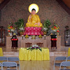 Mark Maynard | For The Herald Bulletin<br /> A statue of Buddha dominates the sanctuary of the Pho Minh Temple, which was dedicated on Sunday in Anderson.