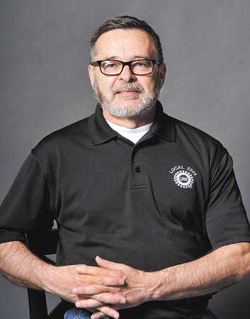 John P. Cleary   The Herald Bulletin<br /> Rick Zachary studio shots for the health series.
