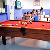 John P. Cleary |  The Herald Bulletin<br /> First day of activities for the new Girls & Boys Club at 2828 Madison Ave. Here the kids enjoy playing pool.