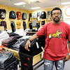 Don Knight | The Herald Bulletin<br /> Scott Guynn stands in his new store 'Trendin Fashion at the Mounds Mall. The new boutique offers men's clothes.