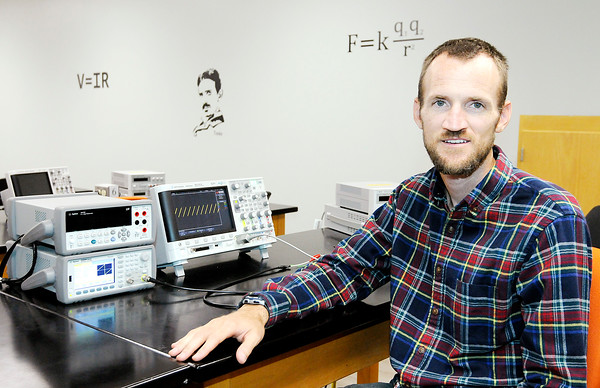 Don Knight   The Herald Bulletin Assistant Professor of Electrical Engineering Kyle Tarplee teaches the core subjects in Anderson University's new cyber security major.