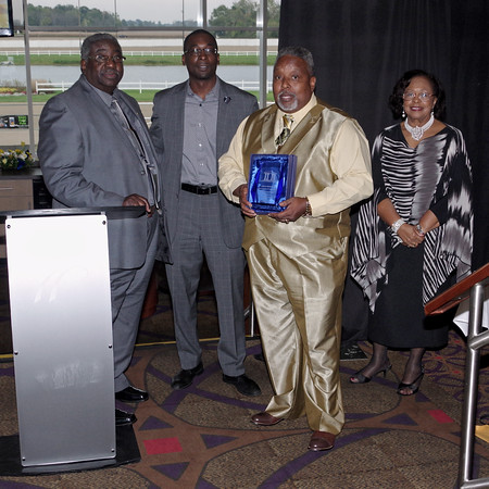 The Concerned Ministers of Anderson were honored with a Weatherly Community Service of the Year Award presented by the Anderson /Madison County Black Chamber of Commerce on Sunday evening.