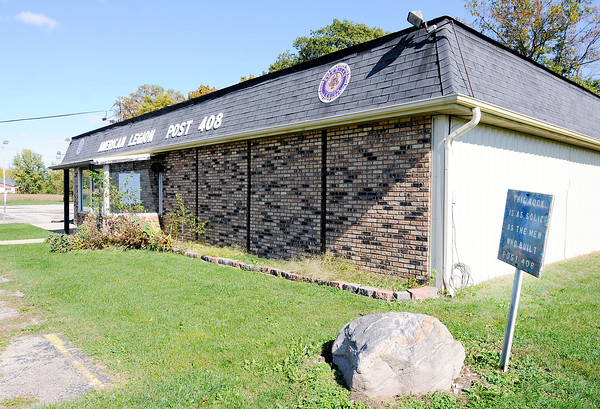 Don Knight | The Herald Bulletin<br /> The American Legion Post 408 in Chesterfield is temporarily closed.
