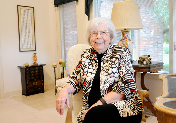 Don Knight | The Herald Bulletin<br /> Ann Smith is an AU Alumna and will be a featured speaker in a chapel series honoring the University's centennial. She was a missionary in Japan for 26 years.