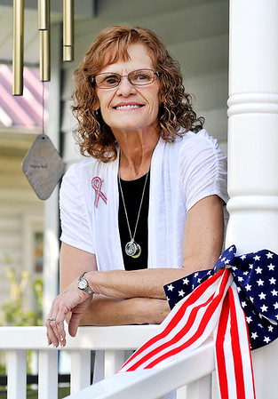 John P. Cleary |  The Herald Bulletin<br /> Judy Meeks Porter has breast cancer for the fourth time.