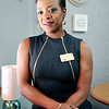 John P. Cleary | The Herald Bulletin<br /> Kim Townsend, executive director Anderson Housing Authority, is a breast cancer survivor.